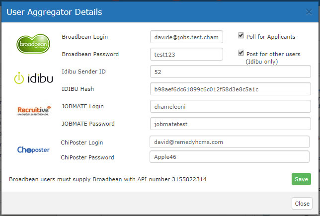 Aggregator Details Pop